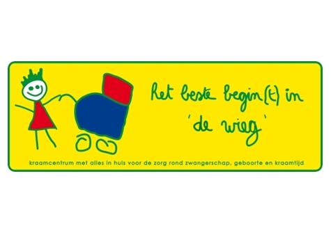 logo van kraamzorg De Wieg